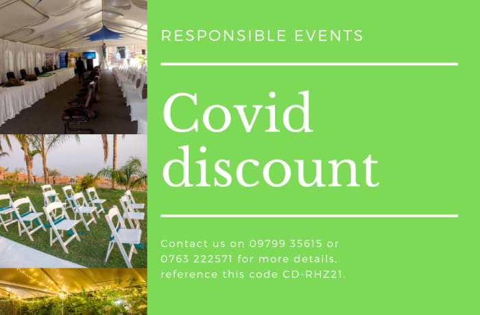 Covid discounts available! image