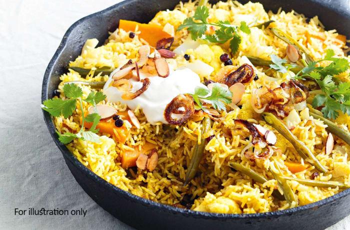 Biryani & Rice - Vegetable Biryani