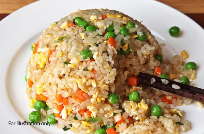 Milile Wedding Option 5 - Accompaniment - Fried Rice