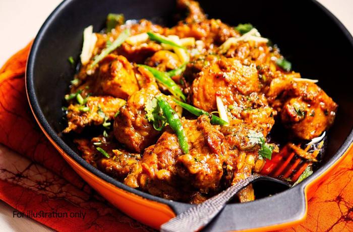Chicken - Adhraki Murgh