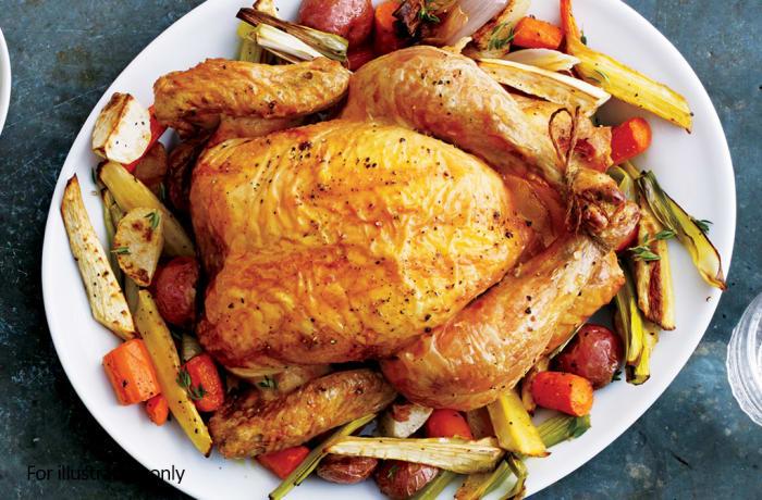 """Chicken Starters - Roasted Chicken """"n"""" Chips"""