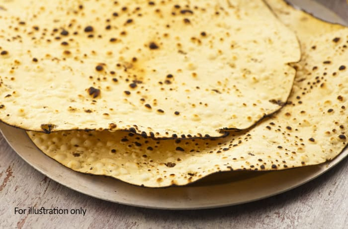 Salads & Accompaniments - Roasted/Fried Papadum