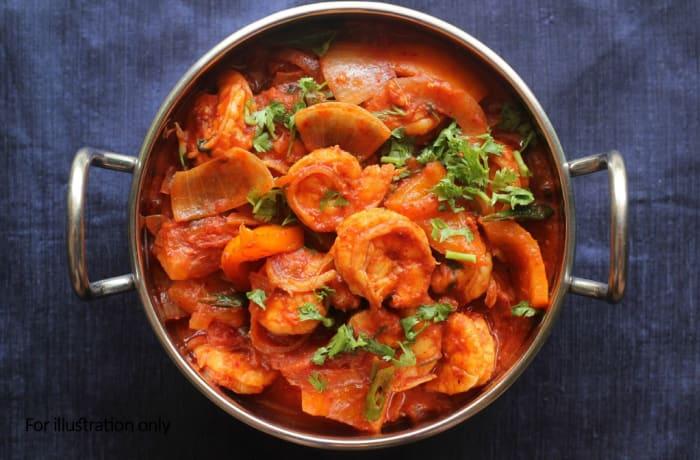 Seafood - Kadai Prawns