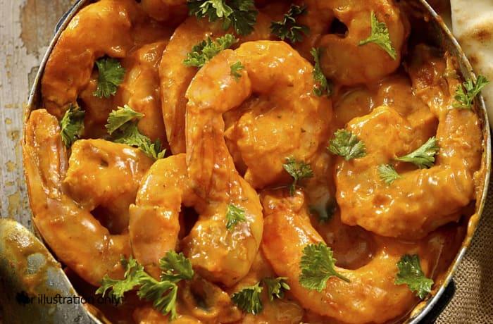 Seafood - Prawns Butter Masala