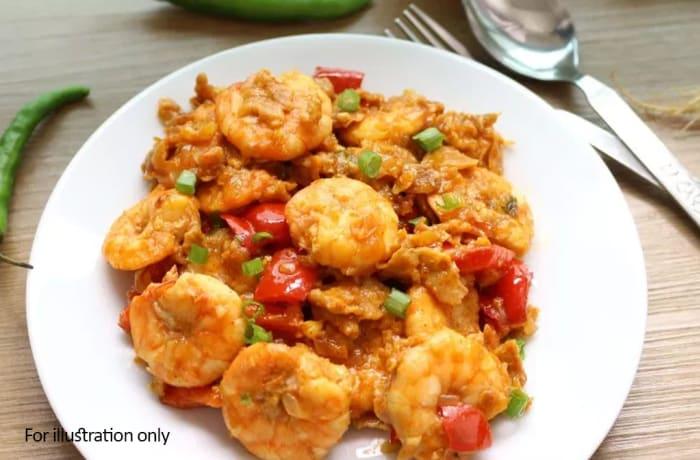 Seafood Starters - Prawns Chili