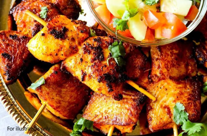 Seafood Starters - Tandoori Fish Tikka