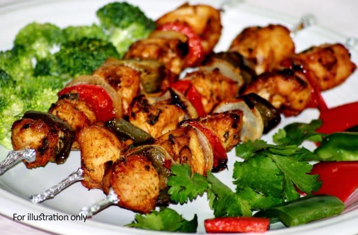 Sizzlers - Mutton Seekh Kebab Sizzler