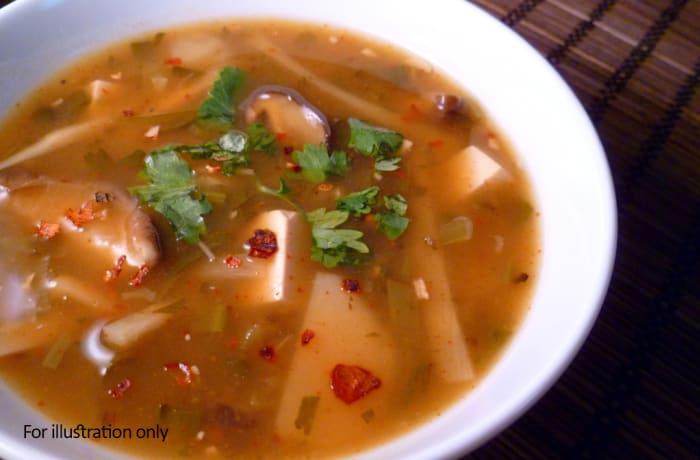 Soups - Vegetarian Hot & Sour Soup