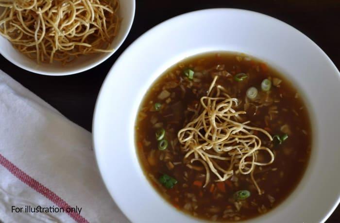 Soups - Vegetarian Manchow Soup