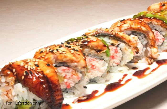 Non Vegetarian Starters - Chicken Dragon Roll