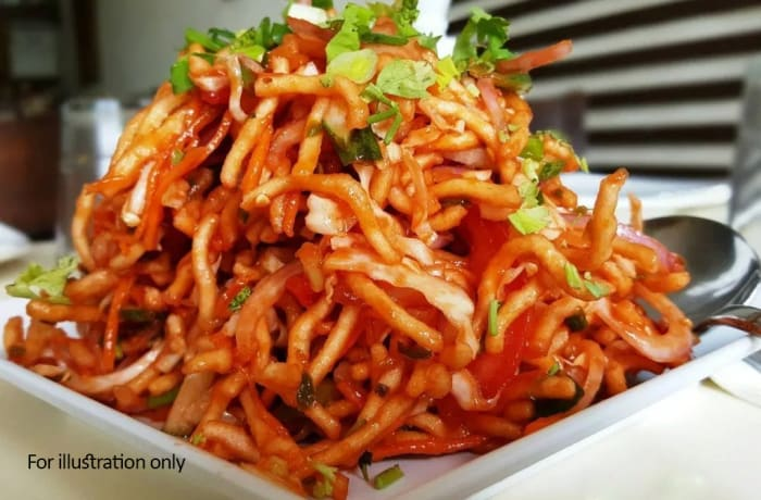 Special Vegetarian Starters - Chinese Bhel