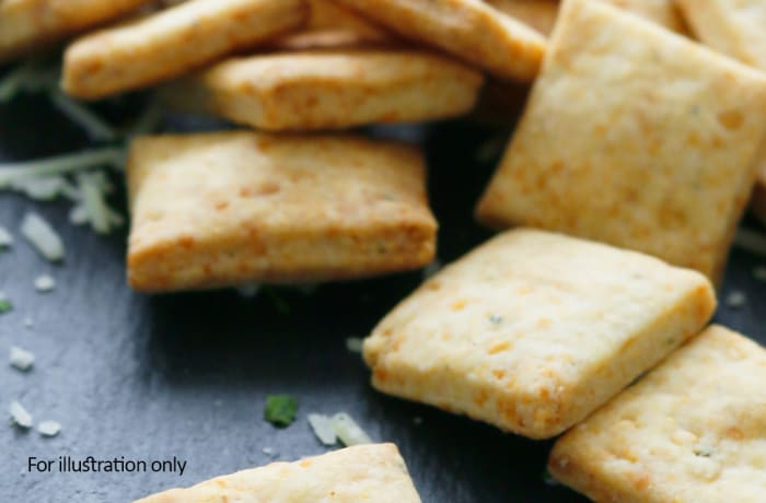 Special Vegetarian Starters - Crunchy Nutty Crackers