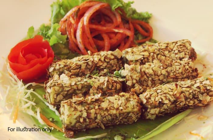 Special Vegetarian Starters - Paneer Kurkure