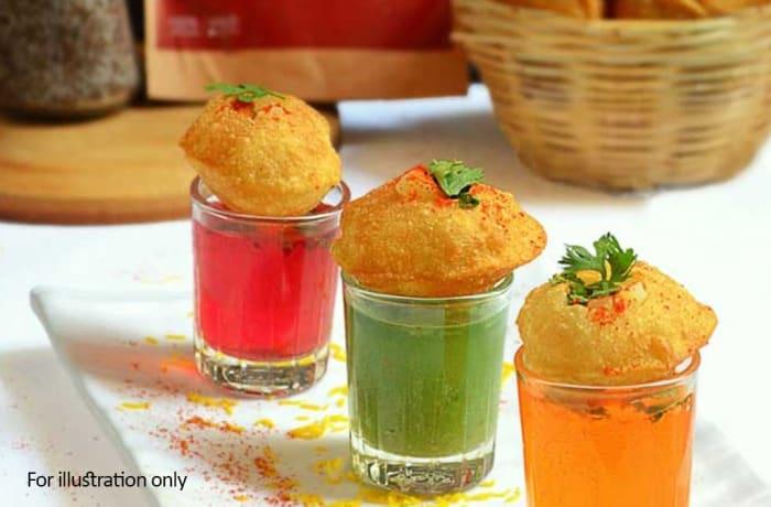 Special Vegetarian Starters - Pani Puri Shots