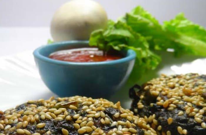 Special Vegetarian Starters - Vegetable Sesame Tikki