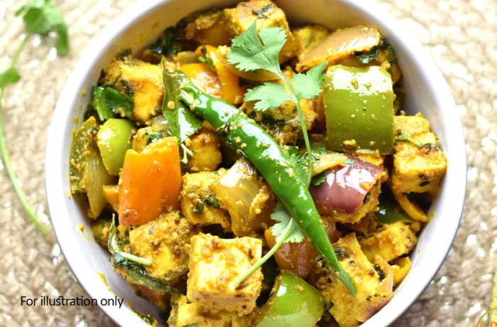 Vegetarian - Kadai Paneer