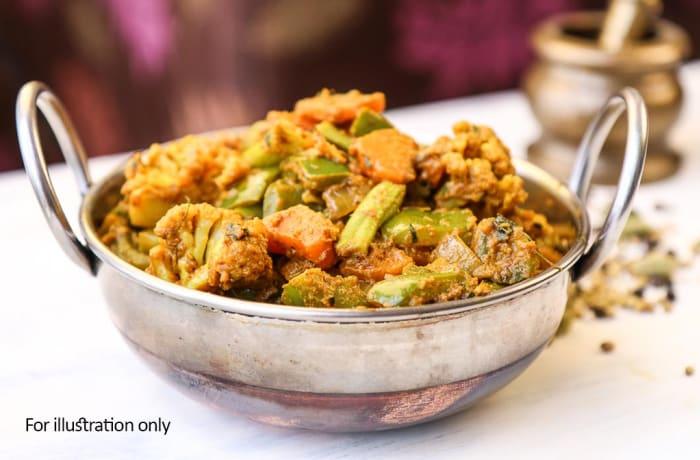 Vegetarian - Kadai Veg