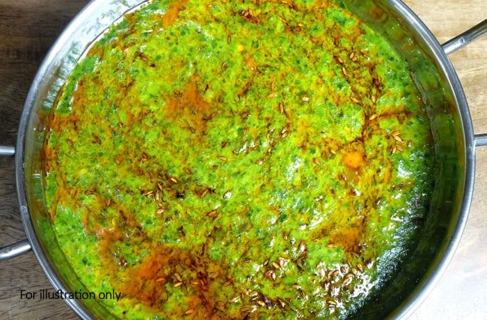 Vegetarian - Lasuni Palak