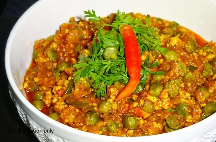 Vegetarian - Mutter Paneer
