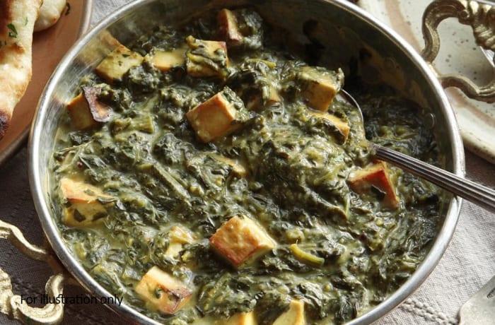 Vegetarian - Palak Paneer