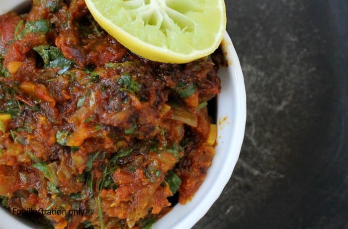 Vegetarian - Tava Sabzi