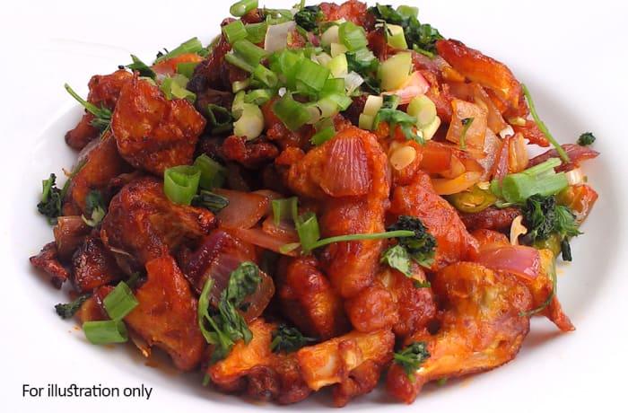 Vegetarian Starters - Crispy Chili Vegetables