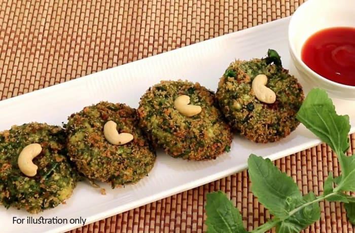 Vegetarian Starters - Hara Bhara Kebab
