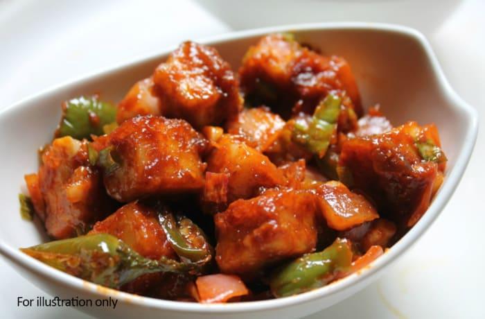 Vegetarian Starters - Paneer Chilli Dry