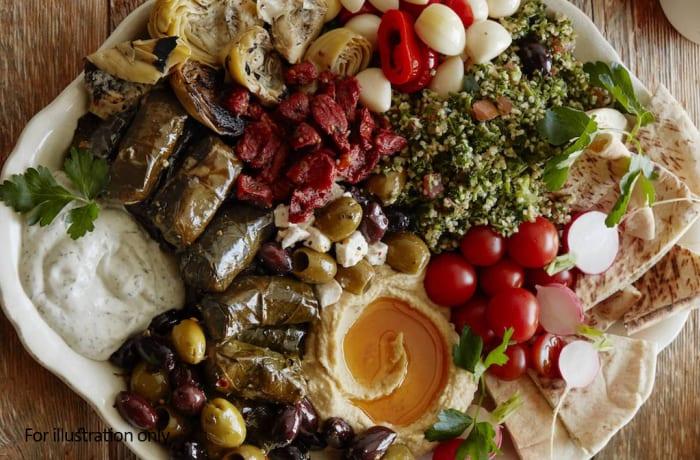Vegetarian Starters - Special Vegetable Platter