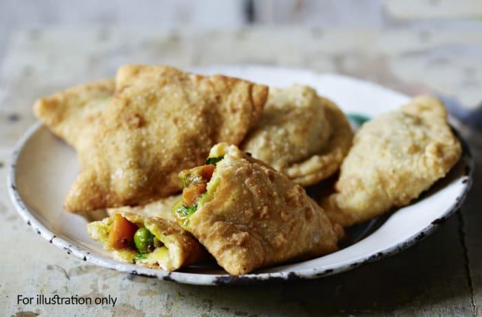 Vegetarian Starters - Vegetarian Samosa
