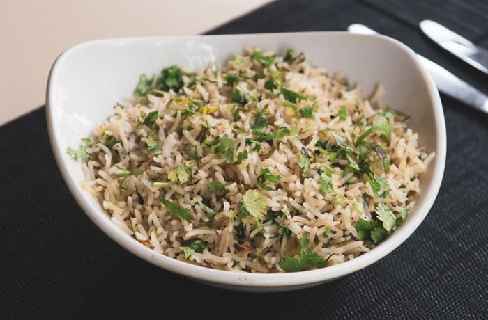 Biryani & Rice - Garlic Coriander Rice