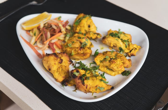 Chicken Starters - Murgh Lasuni Tikka