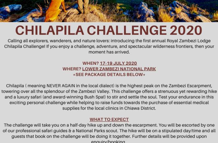 Chilapila Challenge 2020 image