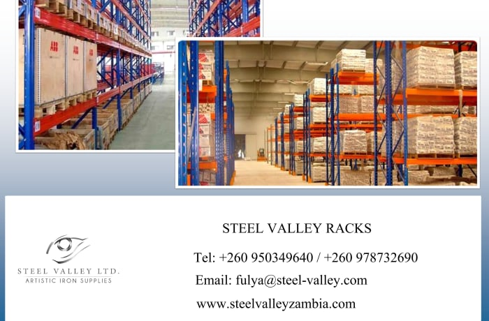 Looking for the best racking solutions for your warehouse, shop or office? image
