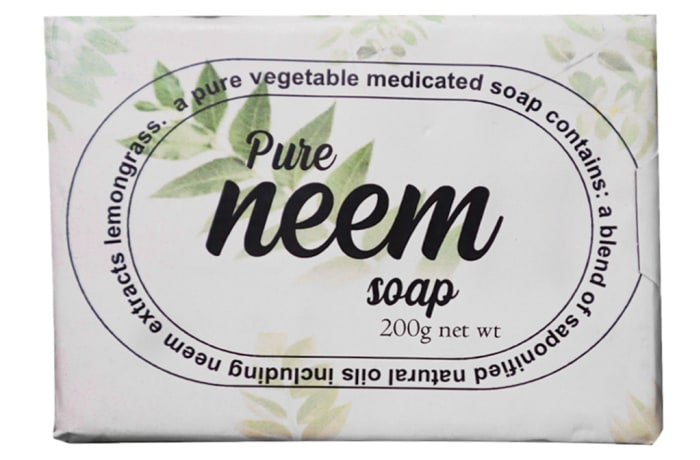 Pure Neem Soap Vegetable Medicated  200g