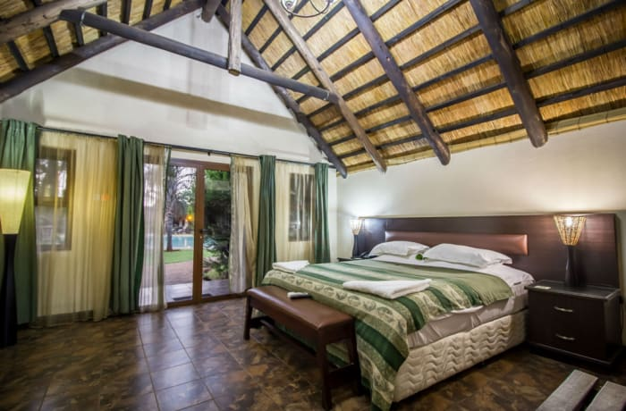 Sandy's - Double  Executive Luxury Chalet Room