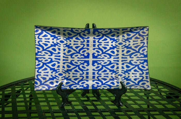 Sandy's Creations - Granada Rectangular Plate