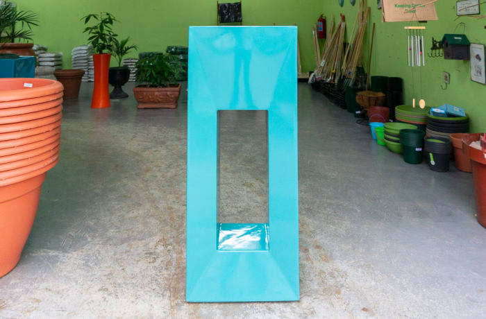 Sandy's Creations - Square Hole Urn Large