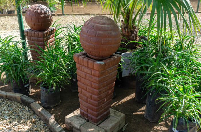 Sandy's Creations - Tuba Bricks Ball Water Fountain Wash