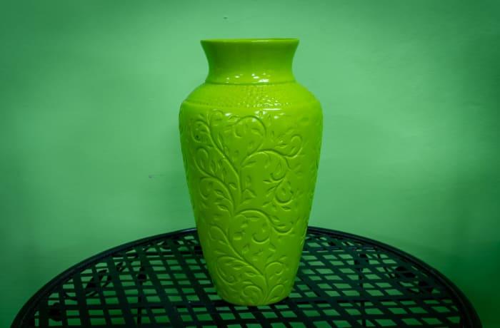 Barnard Vase Green