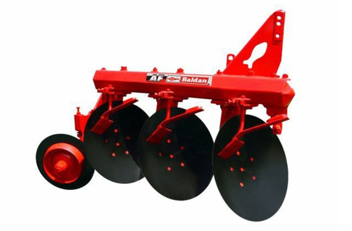 Baldan Disc Plough AF - Mounted 3 disc