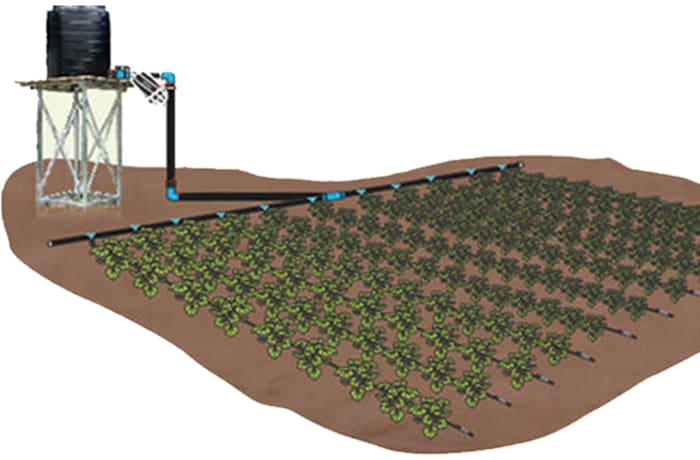 Drip Irrigation Kits - Gravity & pressure types