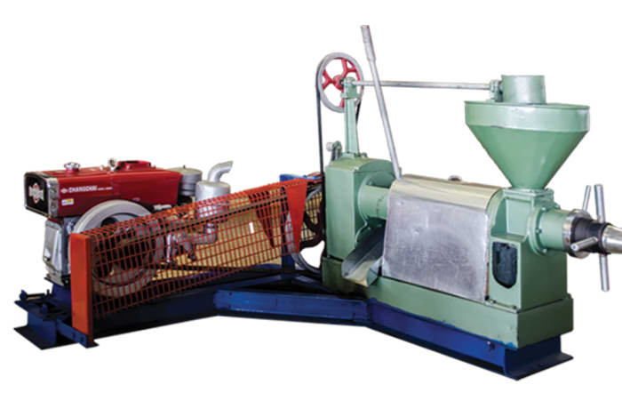 Oil Mill with Diesel Engine