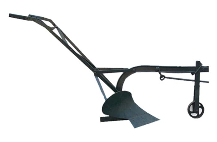 Ox-Drawn Plough