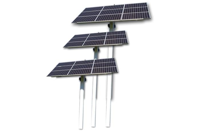 Solar Borehole Pumps Set - Solar panels