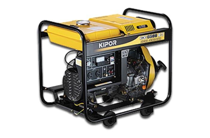 Kipor Generator Set Open Frame