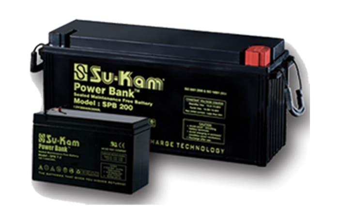 Su-Kam Solar Maintenace Free Batteries