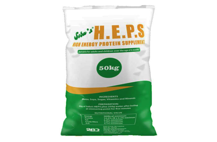 H.E.P.S High Energy Protein Supplement 50kg