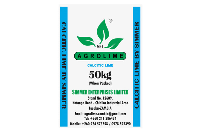 Agrolime - Calcitic Lime - 50kg