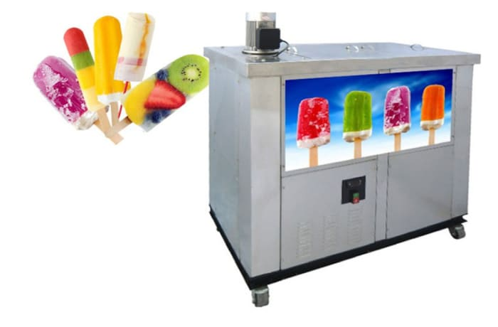 Snack Machines - Double mold popsicle machine ice lolly machine - S02